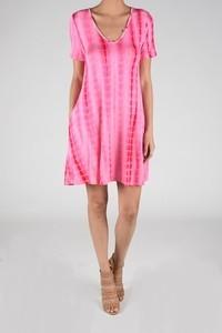 Aryeh Pink Tie Dye Dress