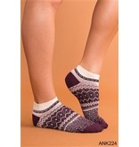 Simply Noelle Ski Lodge Ankle Sock