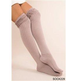Simply Noelle Ruffle Tall Sock