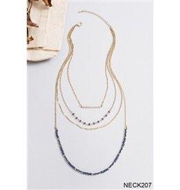 Simply Noelle Tiered bar Necklace