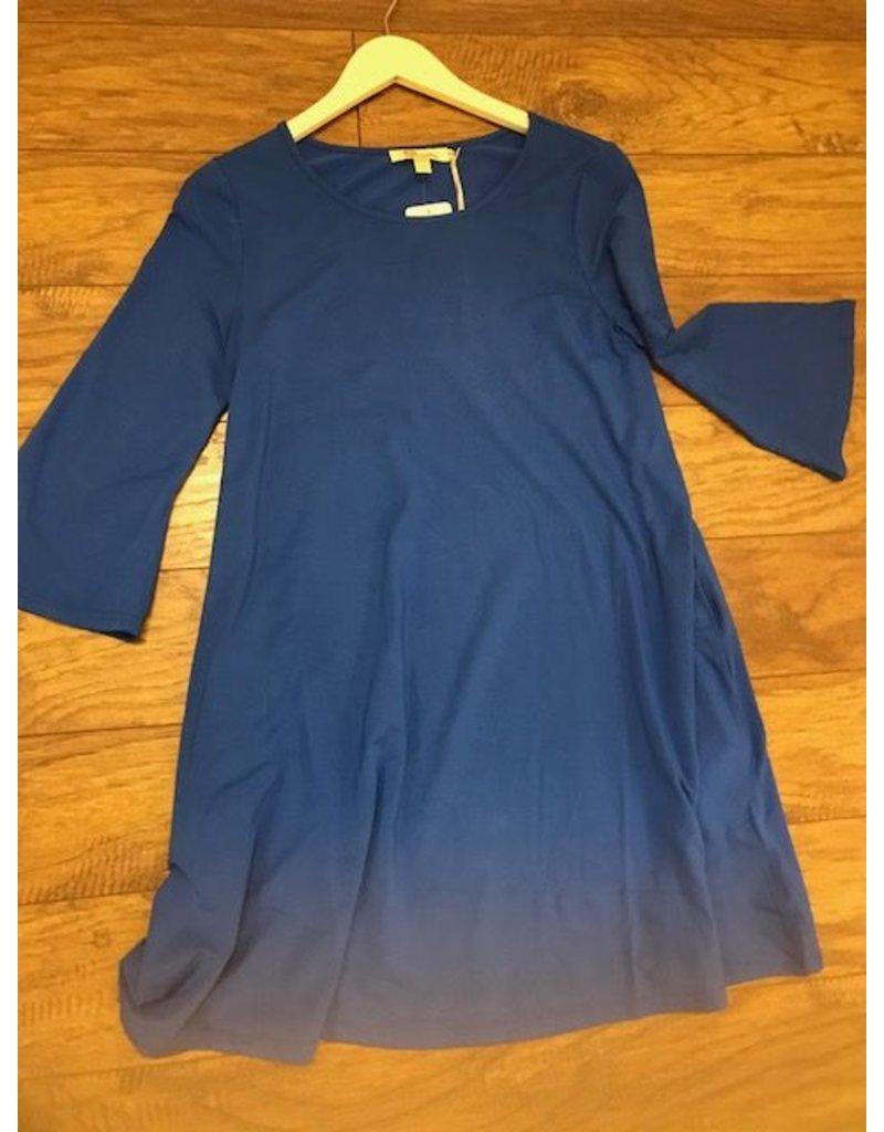 Aryeh Cobalt Swing Dress