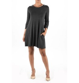 Aryeh Swing Dress/Gray