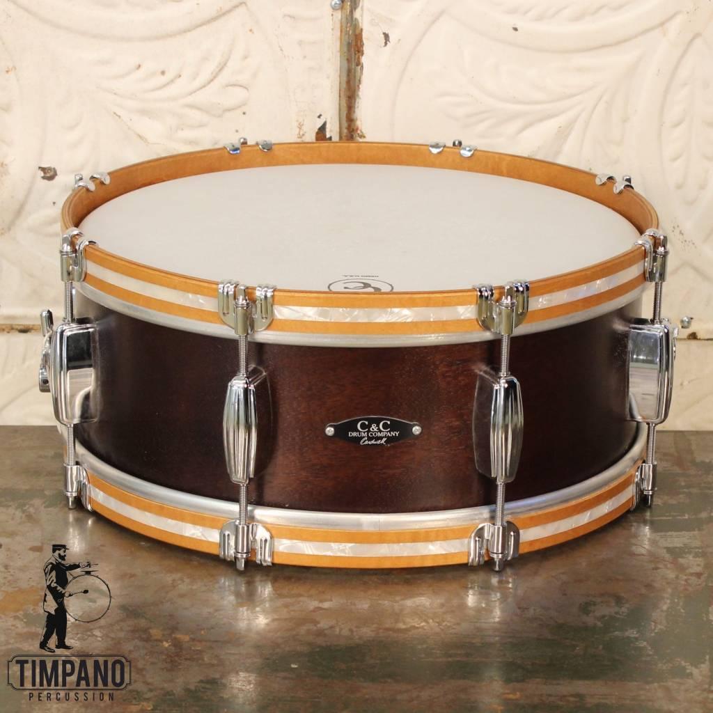 """C&C Drum Company C&C Player Date I Snare Drum 14X5.5"""""""