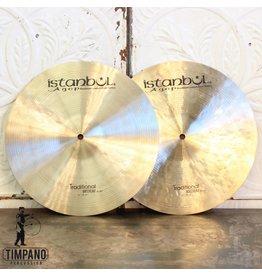 Istanbul Agop Cymbales hi hat Istanbul Agop Traditional Medium 14po
