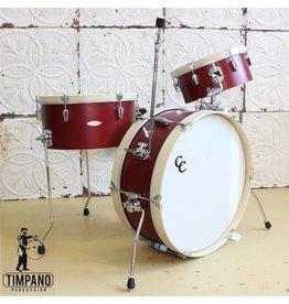 C&C Drum Company C&C Super Flyer Ox Red Drum Set 22-13-16in