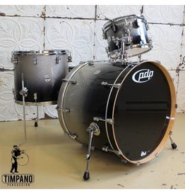 Pacific Pacific PDP Concept Maple drumset Black Sparkle Fade 24-12-16in
