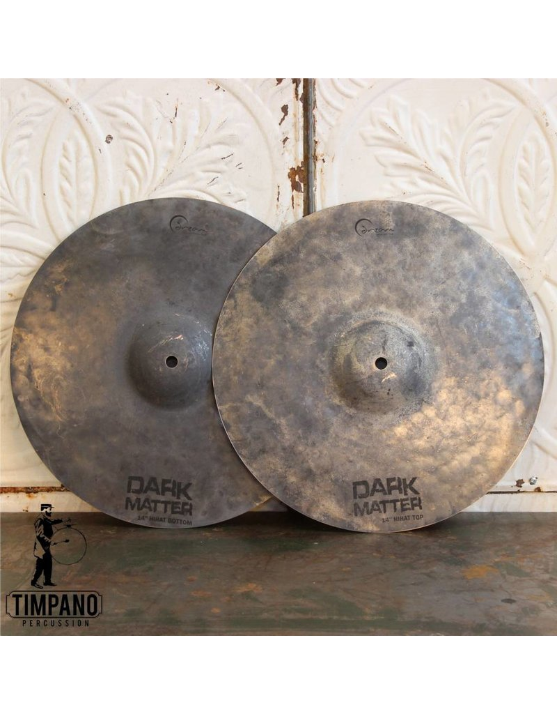 Dream Cymbales hi hat Dream Dark Matter 14po