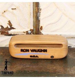 Ron Vaughn Ron Vaughn Piccolo Woodblock, North American Cherry, 1 3/4in x 1 3/4in x 4 3/4in