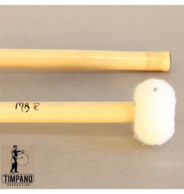 MB Mallets MB Mallets Pro-Solo Bamboo 5W Articulate General Wood Core Timpani Mallets