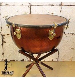 Adams Timbale Baroque Adams avec support en bois et peau de veau 26po