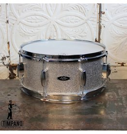 C&C Drum Company Caisse claire usagée C&C Player Date II en Silver Sprakle 14X6.5po