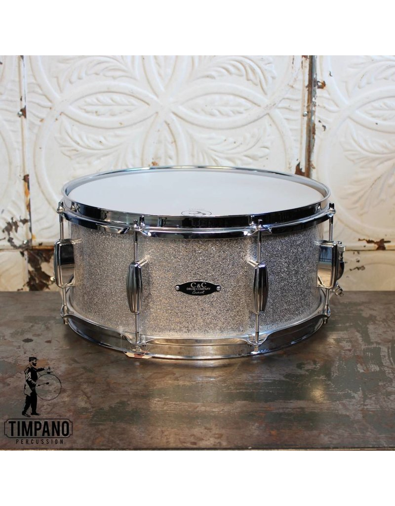 C&C Drum Company C&C Player Date II Snare Drum 14X6.5""