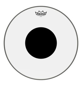 Remo Remo Controlled Sound Clear Top Black Dot Drum Head 16""