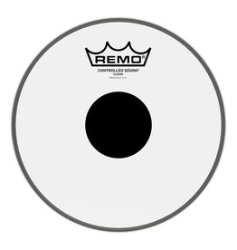 Remo Peau Remo Controlled Sound Clear Top Black Dot 8po