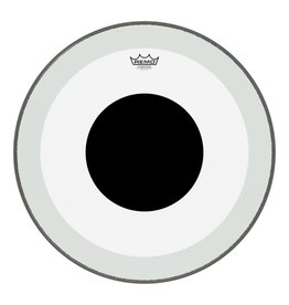 """Remo Remo Powerstroke 3 Clear Black Dot Bass Drum Head 22"""""""