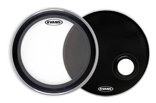 Evans Peaux de grosse caisse Evans EMAD System 22po