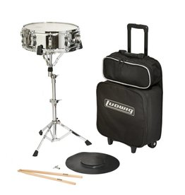 Ludwig Ludwig snare drum kit with case LE2477RBR