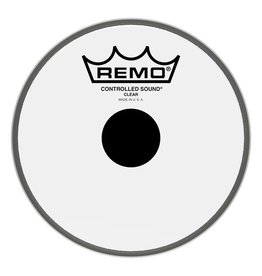 Remo Peau Remo Controlled Sound Clear Top Black Dot 6po