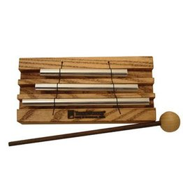 Treeworks Carillon Tubulaire Treeworks 3 notes avec baguettes en bois