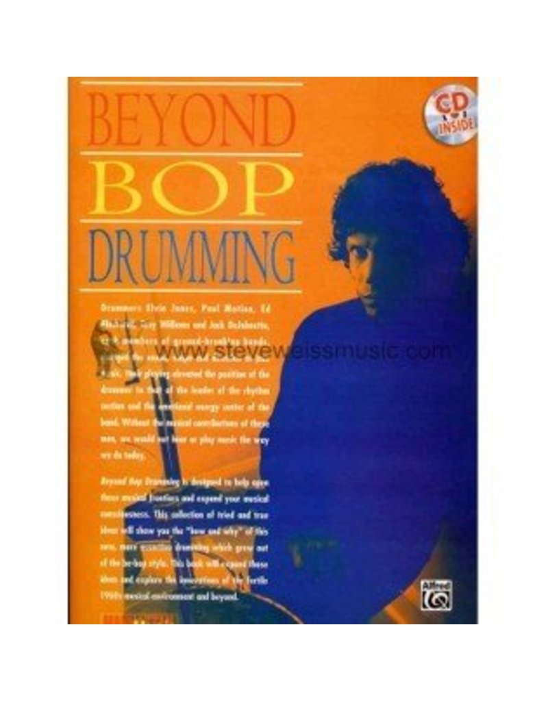 Alfred Music Beyond Bop Drumming Method