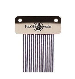 Black Swamp Percussion Chaînes de caisse claire Black Swamp bleu 14po