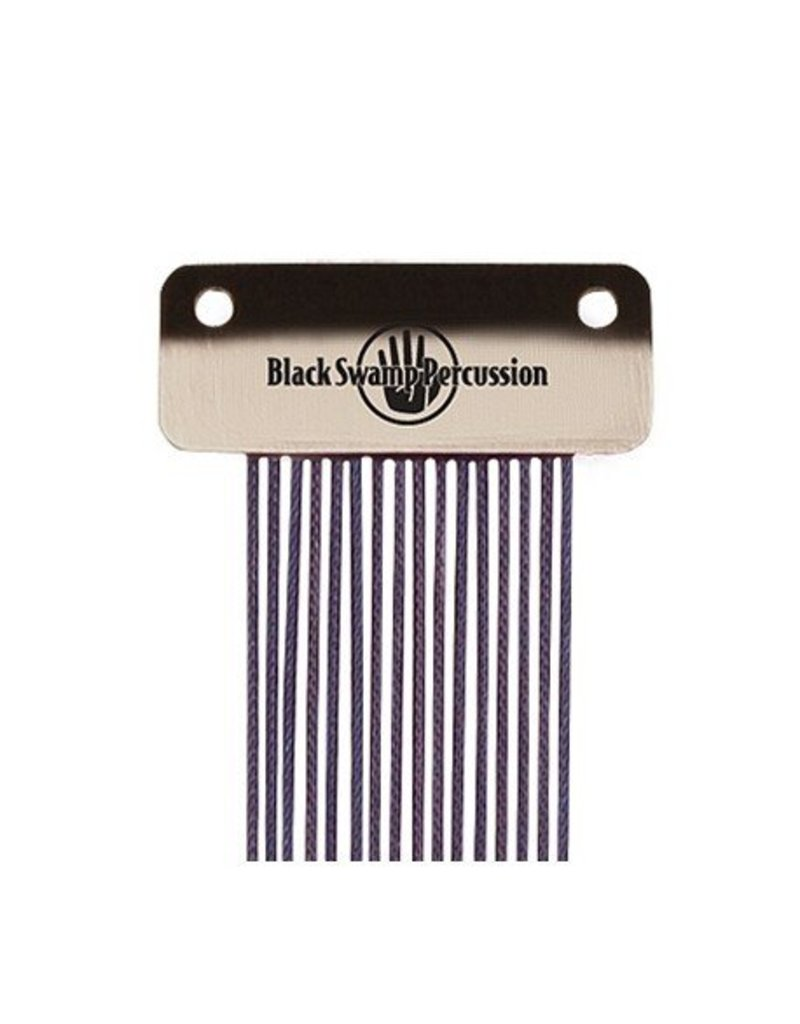 Black Swamp Percussion Black Swamp Stainless Coated Blue Cable Snares