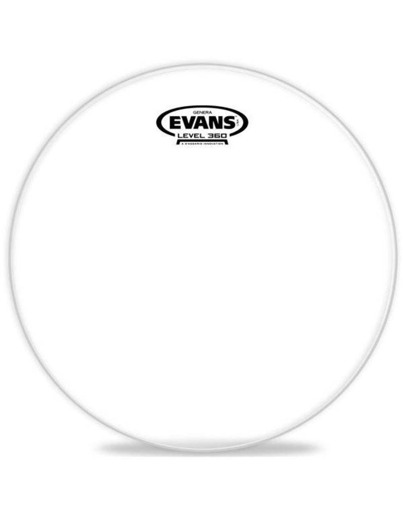 Evans Peau résonnante Evans Genera Clear  18po