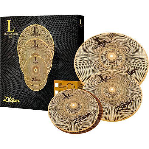Zildjian Ensemble de cymbales Zildjian Low Volume 13HH-14-18