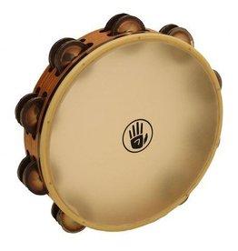 Black Swamp Percussion Tambourine avec peau Black Swamp SoundArt frène/chromium 25 10po