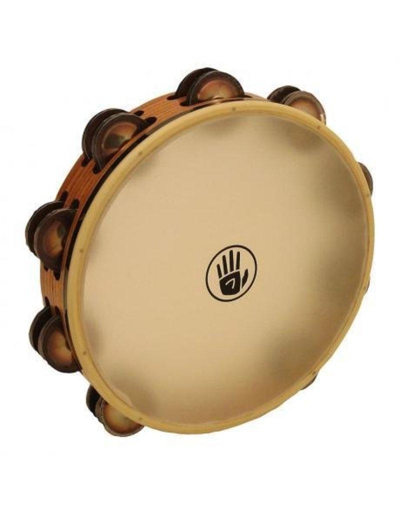 Black Swamp Percussion Black Swamp SoundArt Ash/Chromium Synthetic Head Tambourine 10in