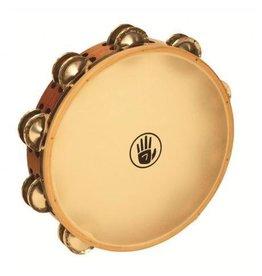 Black Swamp Percussion Tambourine avec peau Black Swamp SoundArt frène/argent 10po