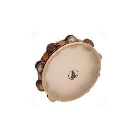 Black Swamp Percussion Tambourine avec peau Black Swamp SoundArt frène/argent/chromium 10po
