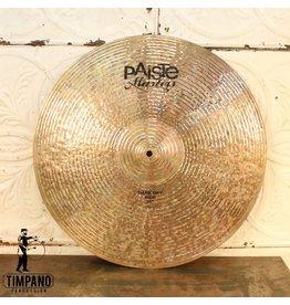 Paiste Cymbale ride Paiste Masters Dark Dry 21po