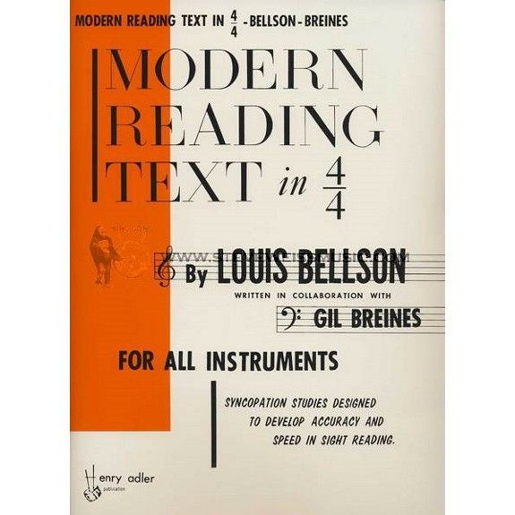 Alfred Music Modern Reading Text in 4/4