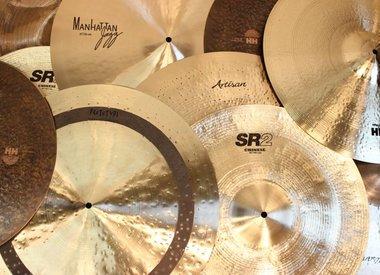 Cymbales et gongs