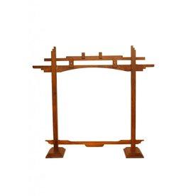 Mid-East Pied de gong en bois Mid-East 22po
