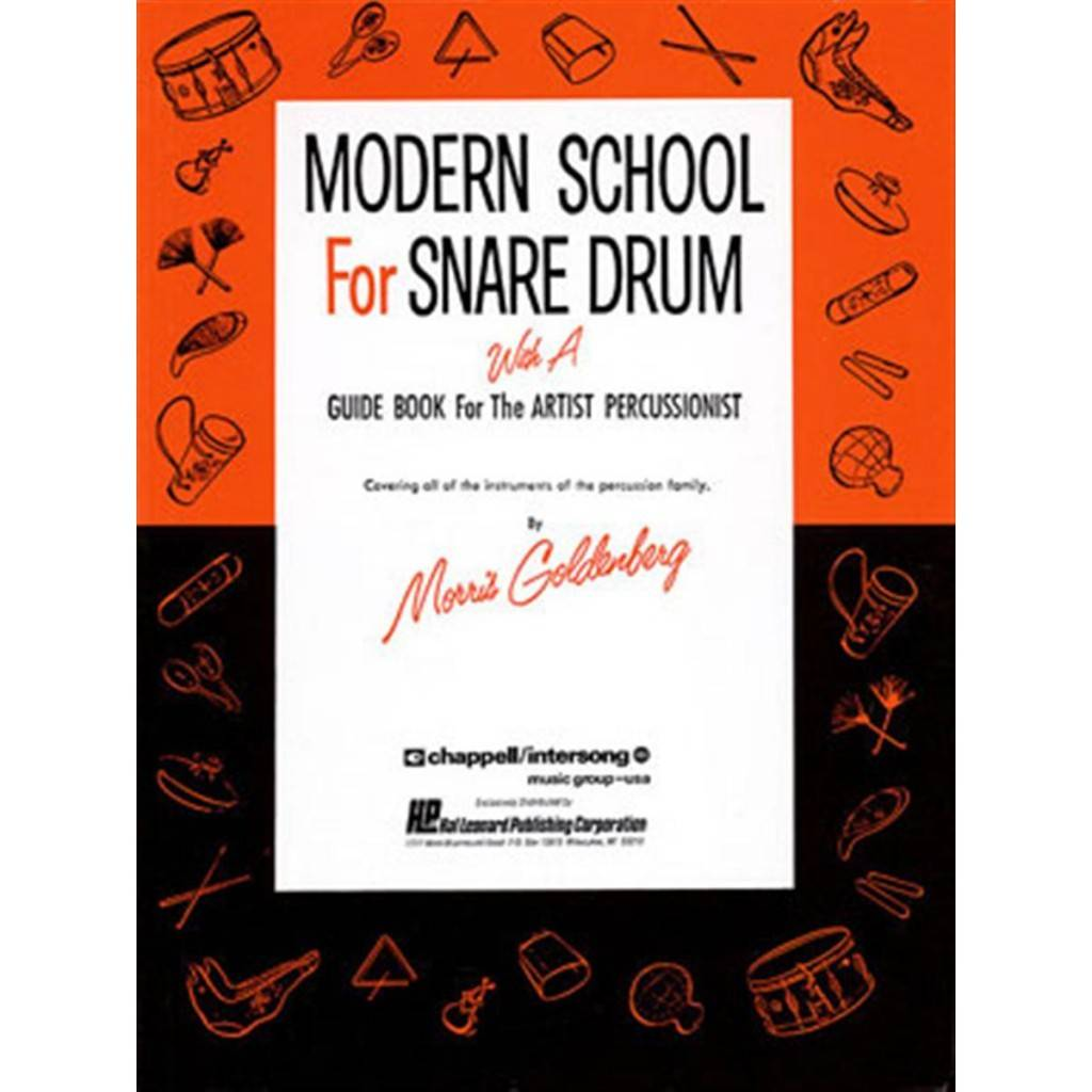 Alfred Music Méthode Modern School for Snare Drums