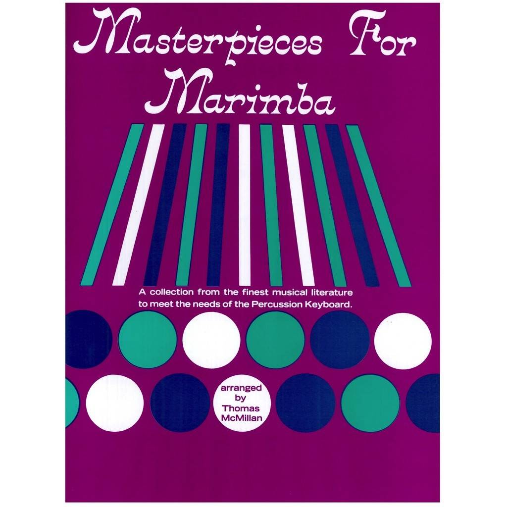 Alfred Music Masterpieces for Marimba