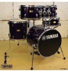 Yamaha Batterie Yamaha Manu Katche Junior 16-10-12-13po + caisse claire 12po avec pieds et support de toms