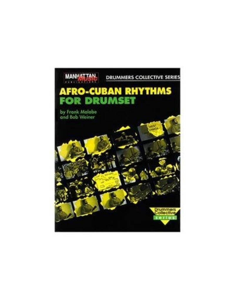 Alfred Music Méthode Afro Cuban Rhythms Drumset Book & CD