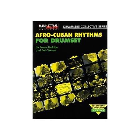 Alfred Music Méthode Afro Cuban Rhythms Drumset Book & CD
