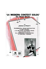 Alfred Music 14 Modern Contest Solos Drum