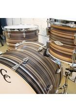 C&C Drum Company Batterie C&C Gladstone Butcher Block 22-13-16po