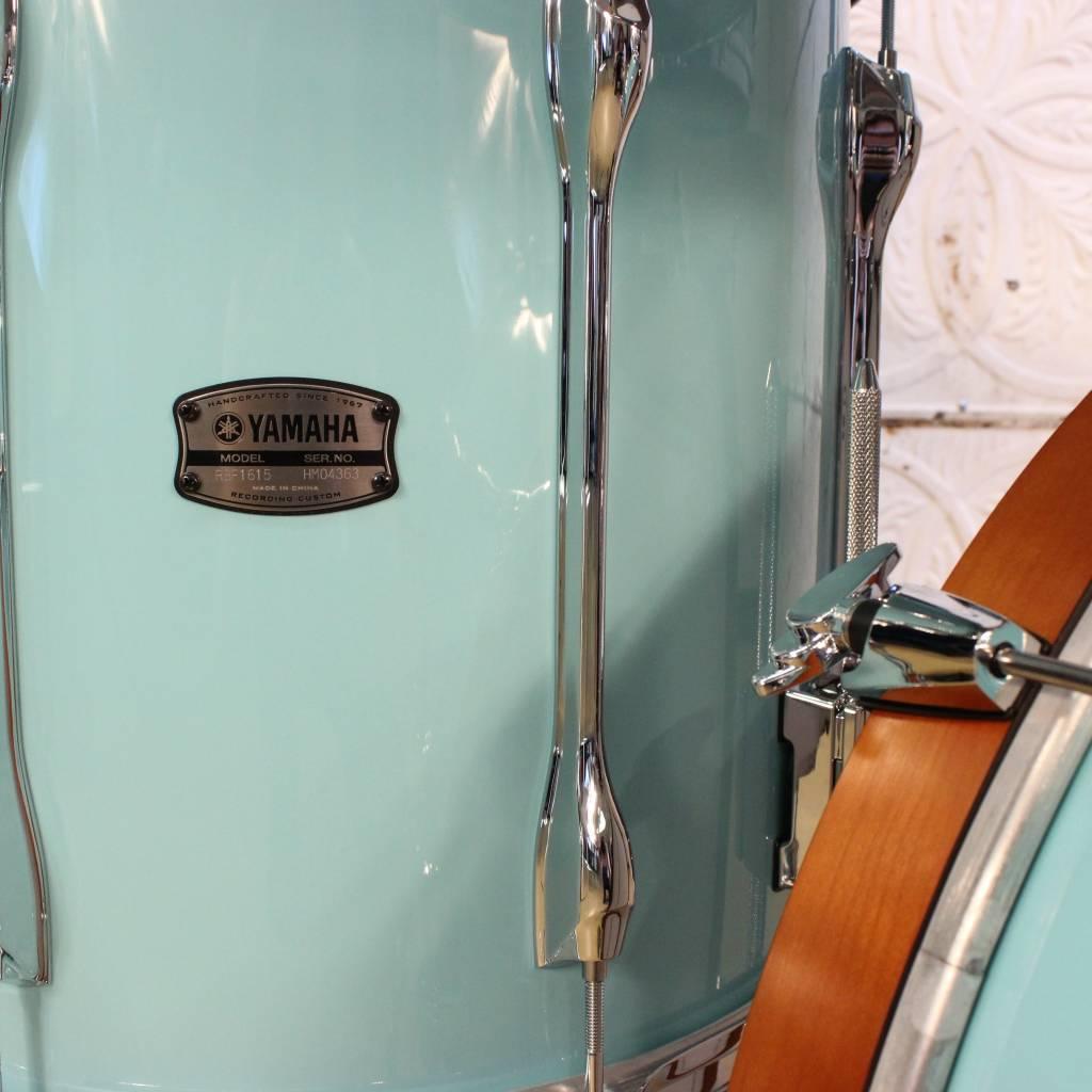 Yamaha Batterie Yamaha Recording Custom Surf Green 22-10-12-16po