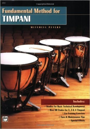Alfred Music Fundamental Method For Timpani