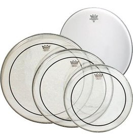 """Remo Remo ProPack (12"""",13"""",16"""" Clear Pinstripe, Free 14"""" Coated Ambassador)"""