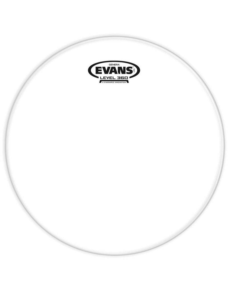 Evans Peau résonnante Evans Genera Clear 13po
