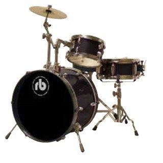RB RB 3 piece Drum Kit Black