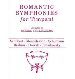Hal Leonard Romantic Symphonies for Timpani Percussion