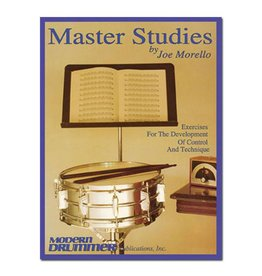 Hal Leonard Master Studies by Joe Morello Percussion